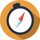 compass, holiday, outdoor, tourist, travel icon
