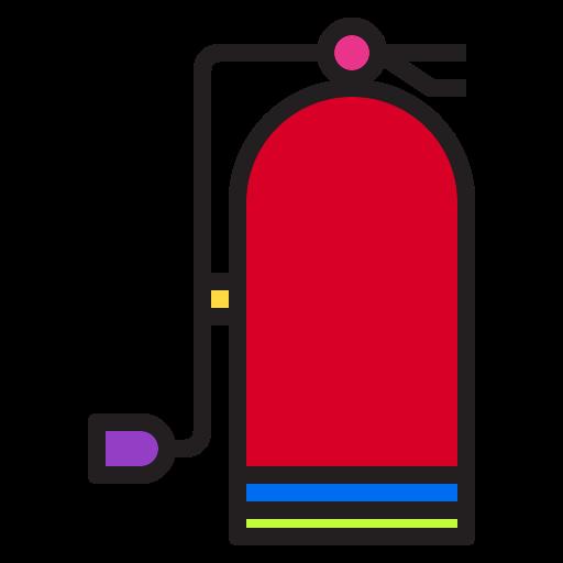 decoration, extinguisher, fire, holiday, hotel, party, xmas icon