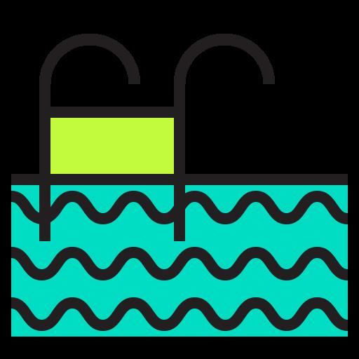 building, celebration, holiday, hotel, swimming, xmas icon