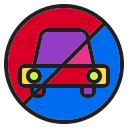 automobile, award, car, holiday, holidays, no, winter icon