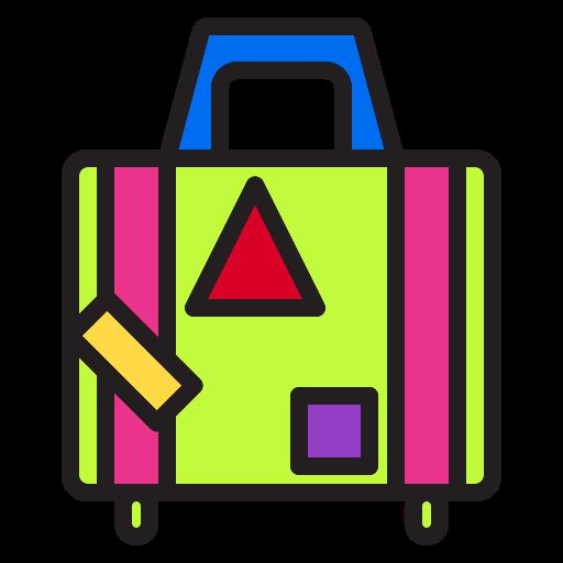 bag, business, christmas, graph, holiday, transport, travel icon