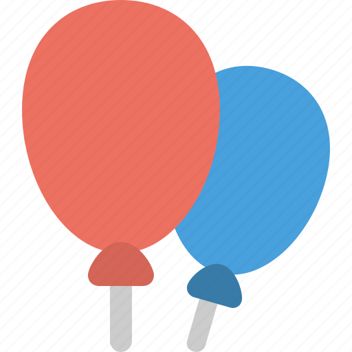 balloons, celebration & holidays, party icon