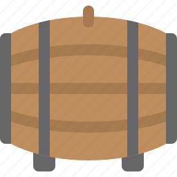 barrel, beer, wine icon