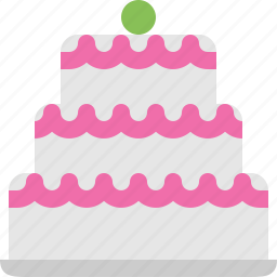 birthday, cake, celebration & holidays icon