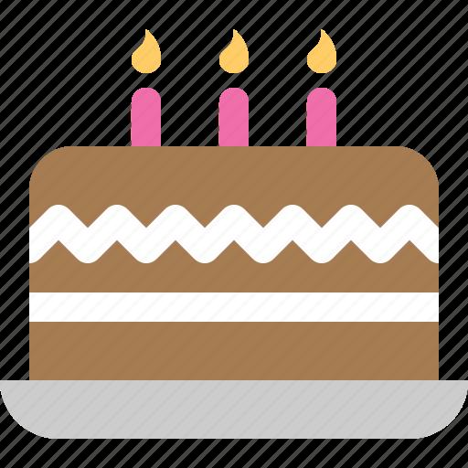 birthday, cake, celebration & holidays icon