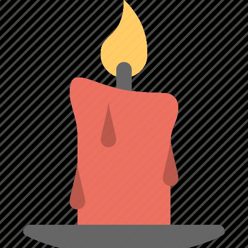 candle, celebration & holidays, fire icon