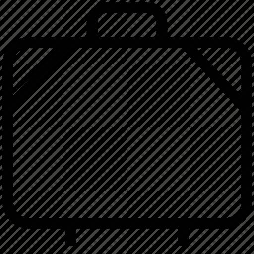 attache case, bag, baggage, briefcase, luggage bag, suitcase icon