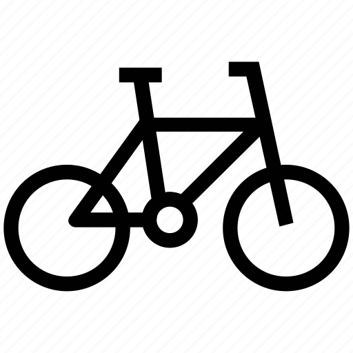 bicycle, cycle, cycling, mountain cycle, pedal cycle icon