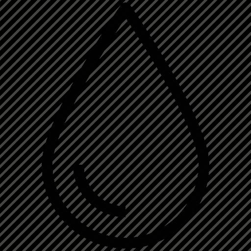 blood, drop, droplet, liquid, paint drop, rain drop, water drop icon
