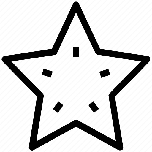 echinoderm, fish, sea star, star, star fish icon