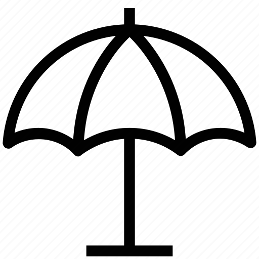 parasol, rain, sun, sun protection, sunshade, umbrella icon