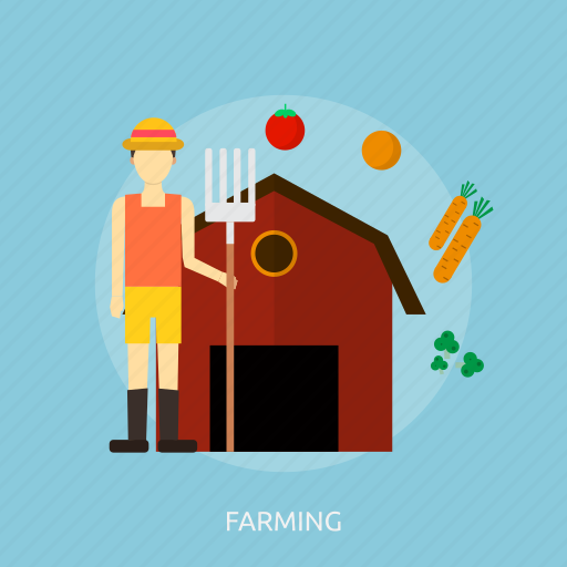 agriculture, farming, field, holiday, plant, recreations icon