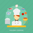 cooking, holiday, recreations icon