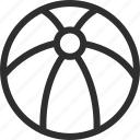 25px, ball, beach, iconspace icon
