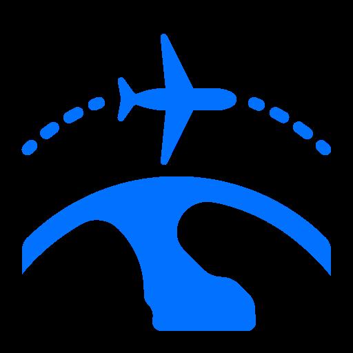 airplane, holidays, international, travel icon