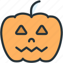 halloween, holidays, pumpkin icon
