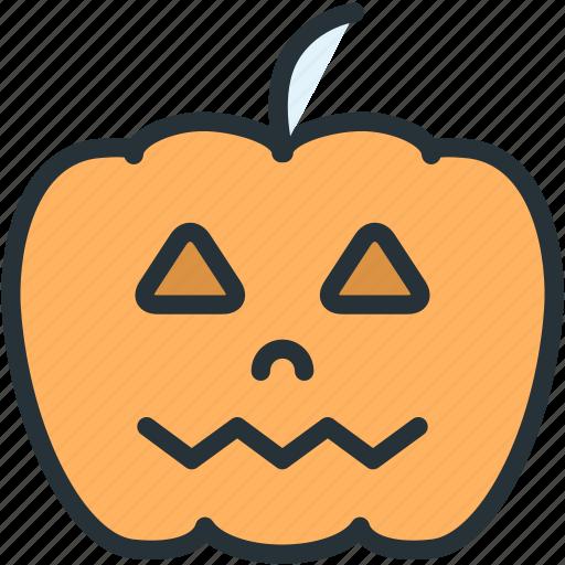 halloween, holidays, pumpkin icon