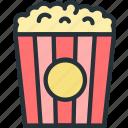 holidays, popcorn