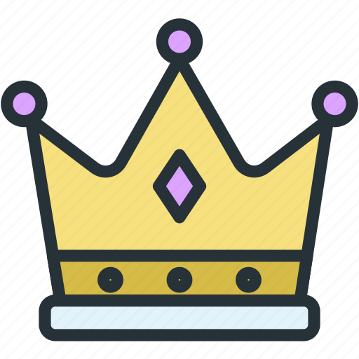boss, crown, holidays, luxury icon