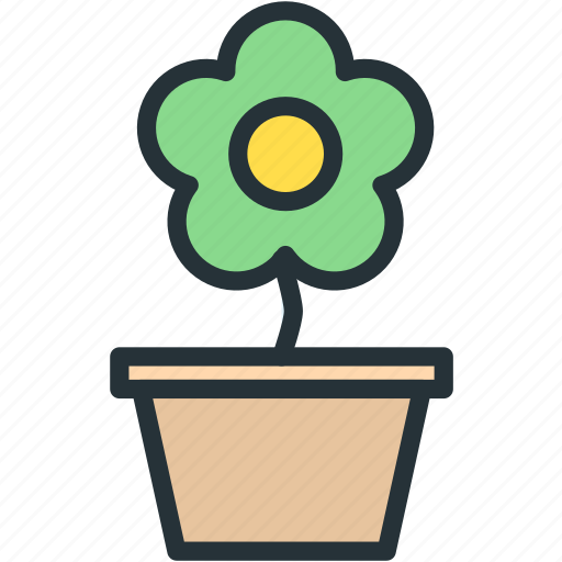 flower, holidays icon