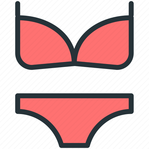 bikini, dress, holidays icon