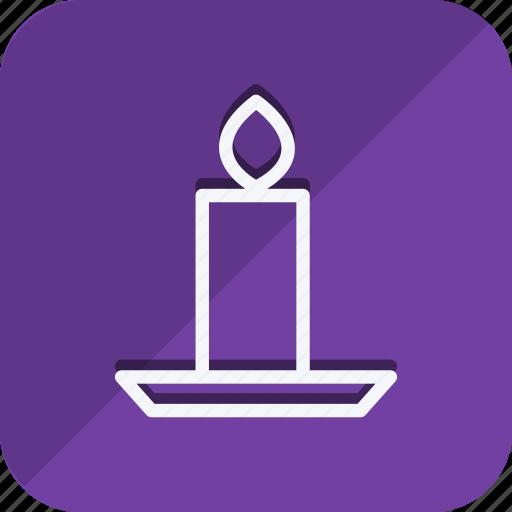 candle, celebration, christmas, haloween, holiday, winter, xmas icon