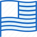 flag, holidays icon