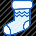 christmas, holidays, sock