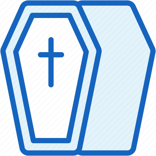 coffin, holidays icon