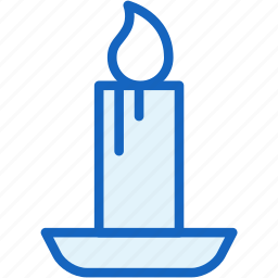 candle, holidays icon