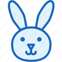 holidays, rabbit icon