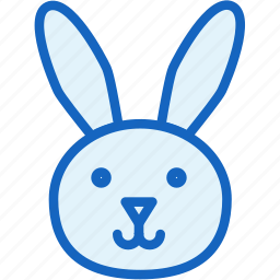 holidays, rabbit icon