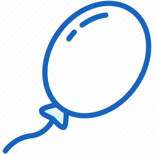 ballon, holidays icon
