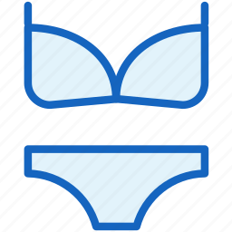 bikini, dress, holidays icon