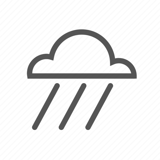 clouds, rain, raining, shower, storm, water, weather icon