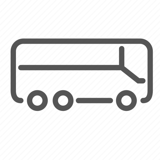 bus, carriage, coach, shuttle, transport, trip, vacation icon