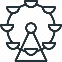 carousel, holidays icon