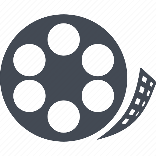 cinema, film, hollywood, production, video icon