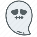 emoji, emojis, face, ghost, ghosts, holloween, scary icon