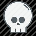 bones, dead, emoji, face, holloween, skull, skulls