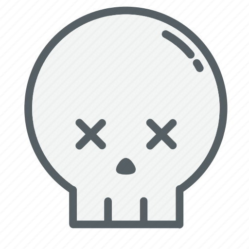 Bones, dead, emoji, face, holloween, skull, skulls icon - Download on Iconfinder