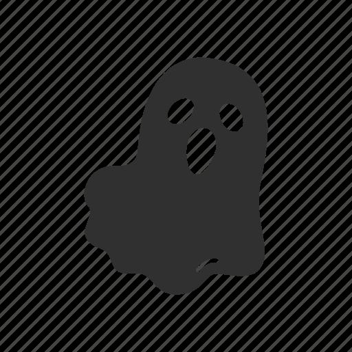 bad spirit, ghost, halloween, spirit icon