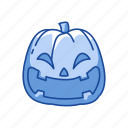 carved pumpkin, halloween, pumpkin, trick or treat icon