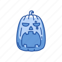 carved pumpkin, halloween, pumpkin, vegetable icon