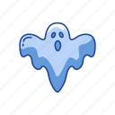 bad spirit, ghost, halloween, monster icon