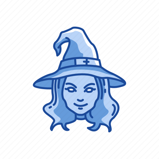 halloween, wicca, witch, witch hat icon