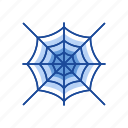 halloween, net, spider web, web icon
