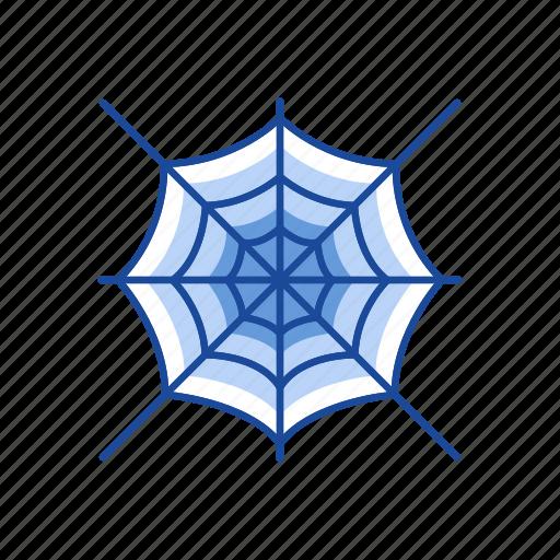 halloween, net, spider web, web icon