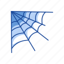 halloween, spider, spider web, web icon