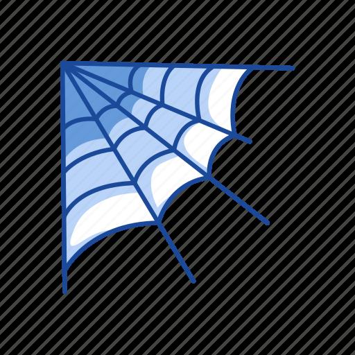 halloween, spider, spider web, web icon